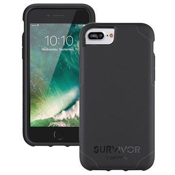 iPhone 7 Plus Griffin Survivor Journey Kuoret Musta