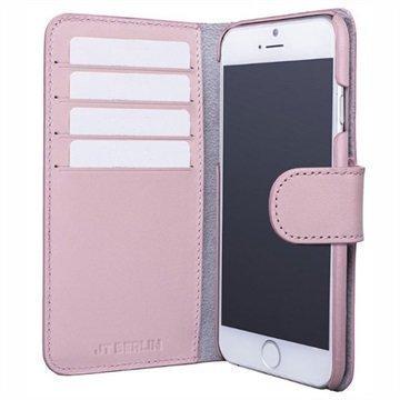 "iPhone 7 Plus JT Berlin 3-in-1 nahkainen lompakkokotelo â"" Pinkki"