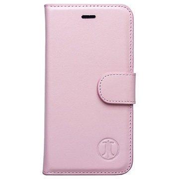 iPhone 7 Plus JT Berlin Book Style Nahkainen Lompakkokotelo Pinkki