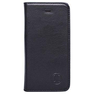 iPhone 7 Plus JT Berlin LeatherBook Magic Lompakkokotelo Musta
