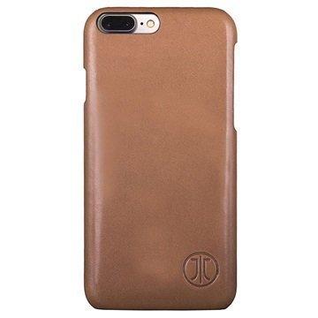 iPhone 7 Plus JT Berlin Nahkakotelo Style Pure Konjakki