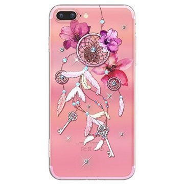 iPhone 7 Plus Kingxbar Pretty TPU Suojakuori Unisieppari
