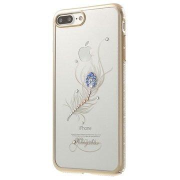 iPhone 7 Plus Kingxbar Star Suojakuori Riikinkukon Sulka