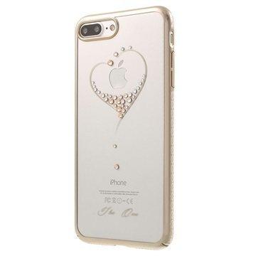 iPhone 7 Plus Kingxbar Star Suojakuori Sydämet