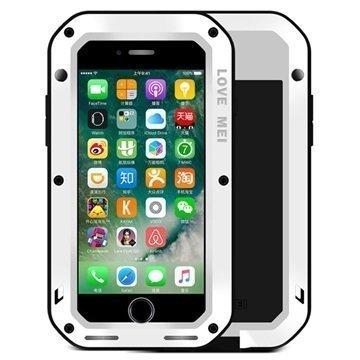iPhone 7 Plus Love Mei Powerful Suojakuori Valkoinen