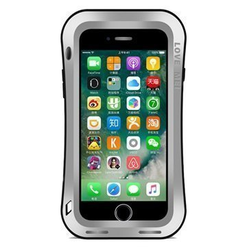 "iPhone 7 Plus Love Mei Slim Waist Powerful Suojakotelo â"" Hopea"