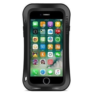 """iPhone 7 Plus Love Mei Slim Waist Powerful Suojakotelo â"""" Musta"""