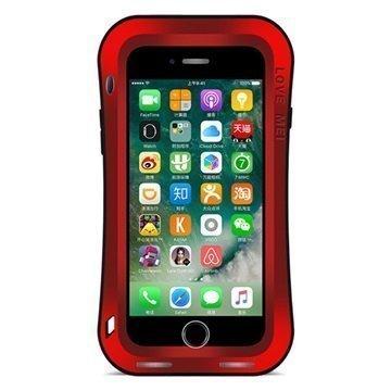 "iPhone 7 Plus Love Mei Slim Waist Powerful Suojakotelo â"" Punainen"