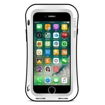 """iPhone 7 Plus Love Mei Slim Waist Powerful Suojakotelo â"""" Valkoinen"""