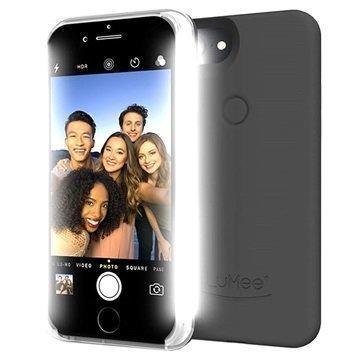 iPhone 7 Plus LuMee Two LED-Valaistu Kotelo Musta
