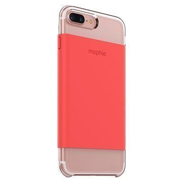 iPhone 7 Plus Mophie Base Wrap Case Coral