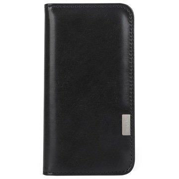 iPhone 7 Plus Moshi Overture Lompakkokotelo Hiilenmusta