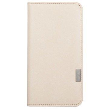iPhone 7 Plus Moshi Overture Lompakkokotelo Sahara Valkoinen