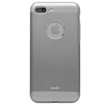 iPhone 7 Plus Moshi iGlaze Armour Suojakuori Harmaa
