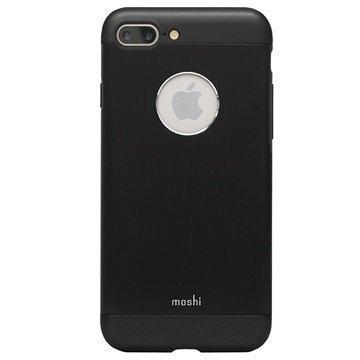 iPhone 7 Plus Moshi iGlaze Armour Suojakuori Musta