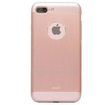 iPhone 7 Plus Moshi iGlaze Armour Suojakuori Ruusukulta