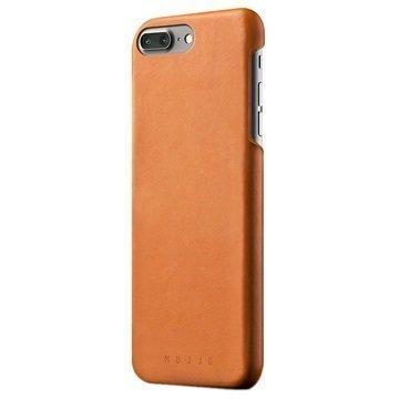 iPhone 7 Plus Mujjo Nahkainen Suojakuori Keltaruskea