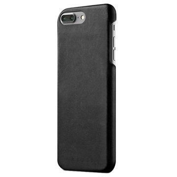 iPhone 7 Plus Mujjo Nahkainen Suojakuori Musta