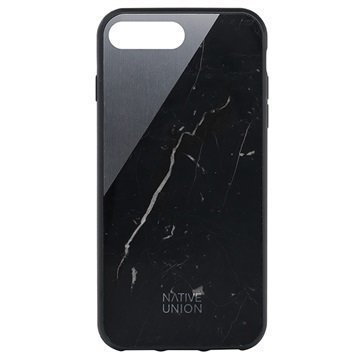 iPhone 7 Plus Native Union Clic Marble Suojakuori Musta
