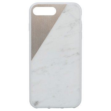iPhone 7 Plus Native Union Clic Marble Suojakuori Valkoinen