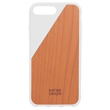iPhone 7 Plus Native Union Clic Wooden Suojakuori Valkoinen / Kirsikkapuu
