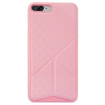 "iPhone 7 Plus Ozaki O!Coat 0.4+ Totem suojakuori â"" Vaaleanpunainen"