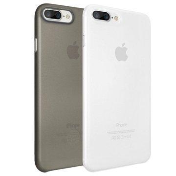 iPhone 7 Plus Ozaki O!Coat Jelly 2 in 1 Suojakuorisetti Musta / Kirkas