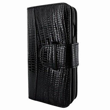 iPhone 7 Plus Piel Frama WalletMagnum nahkakotelo Lisko Musta