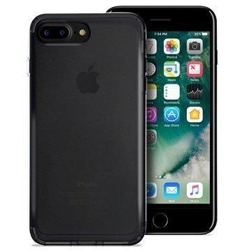 iPhone 7 Plus Puro 03 Nude Kotelo Läpinäkyvä Musta