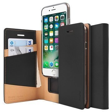 iPhone 7 Plus Ringke Signature Wallet Case Black