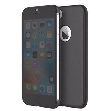 "iPhone 7 Plus Rock Dr. V läpällinen älykotelo â"" Musta"