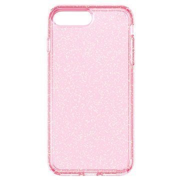 iPhone 7 Plus Speck Presidio Clear Glitter Suojakuori Pinkki