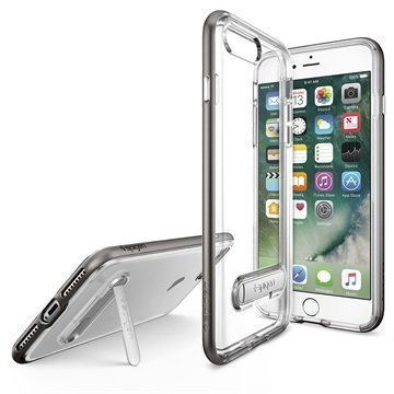 iPhone 7 Plus Spigen Crystal Hybrid Suojakuori Asemetalli