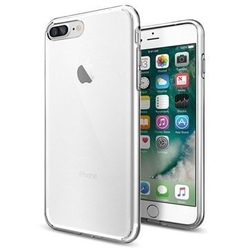 "iPhone 7 Plus Spigen Liquid Crystal TPU Suojakuori â"" Kirkas"