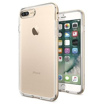iPhone 7 Plus Spigen Neo Hybrid Crystal Suojakuori Samppanjakulta