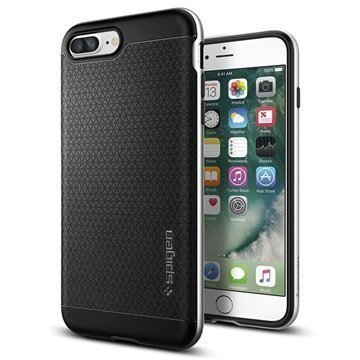 iPhone 7 Plus Spigen Neo Hybridi Suojakuori Hopea