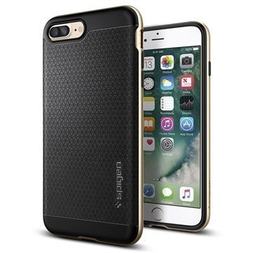 iPhone 7 Plus Spigen Neo Hybridi Suojakuori Samppanja Kulta