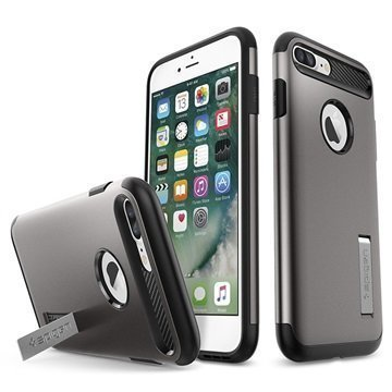 iPhone 7 Plus Spigen Slim Armor Suojakuori Gunmetal