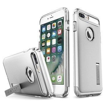 iPhone 7 Plus Spigen Slim Armor Suojakuori Hopea