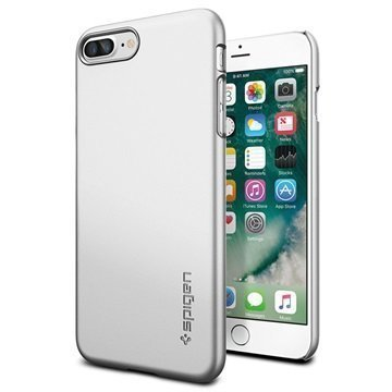 iPhone 7 Plus Spigen Thin Fit Case Satin Silver