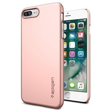 iPhone 7 Plus Spigen Thin Fit Suojakuori Ruusukulta