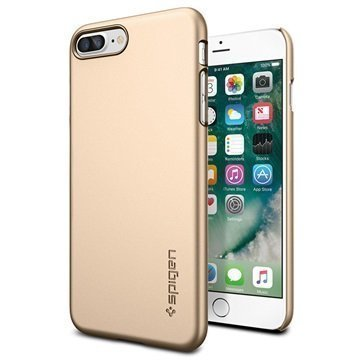 iPhone 7 Plus Spigen Thin Fit Suojakuori Samppanjakulta