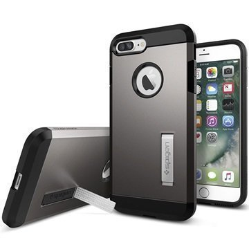 iPhone 7 Plus Spigen Tough Armor Kotelo Asemetalli