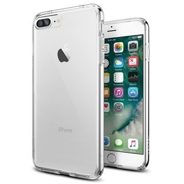 iPhone 7 Plus Spigen Ultra Hybrid Suojakuori Crystal Clear