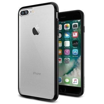 iPhone 7 Plus Spigen Ultra Hybrid Suojakuori Musta