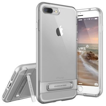 iPhone 7 Plus VRS Design Crystal Bumper Suojakuori Hopea