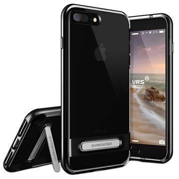 iPhone 7 Plus VRS Design Crystal Bumper Suojakuori Pikimusta