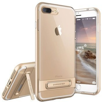 iPhone 7 Plus VRS Design Crystal Bumper Suojakuori Samppanjakulta