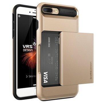 iPhone 7 Plus VRS Design Damda Glide Suojakotelo Samppanjakulta
