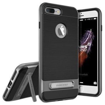iPhone 7 Plus VRS Design High Pro Shield Suojakuori Teräksinen Hopea